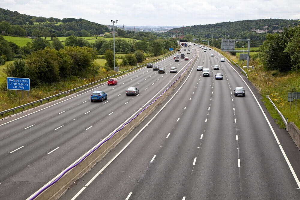 West Yorkshire's 4 Lane Smart Motorway