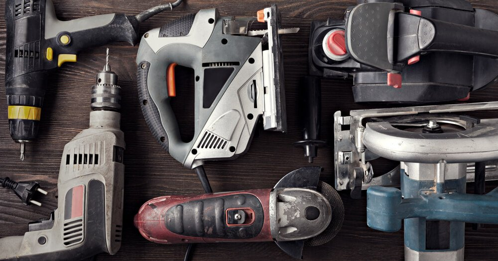 Range of Electric Hand Tools